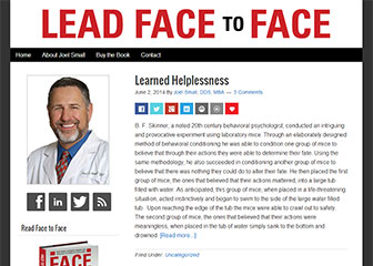Lead Face to Face